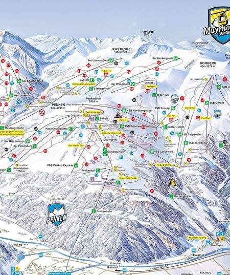 Skigebiet Ahorn © Mayrhofner Bergbahnen
