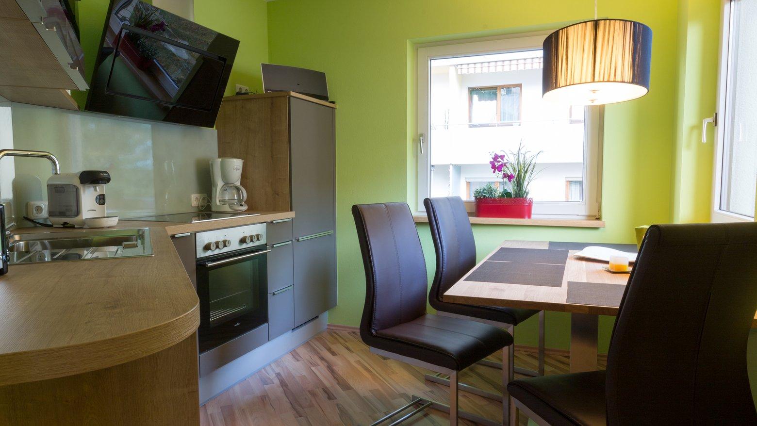 Top ausgestattete Wohnküche